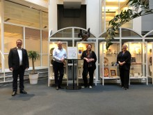 Haninge kommun tilldelas pris för Årets Nattvandrarkommun