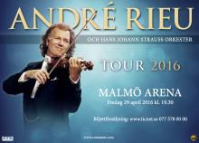 André Rieu, världens största klassiska artist kommer tillbaka 2016!