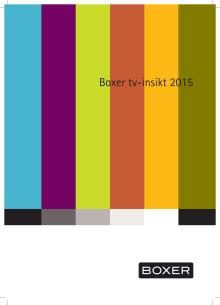 Boxer tv-insikt 2015