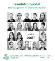 Ny skrift: Framtidsprojektet – ett tankeexperiment om naturresursbruket 2063