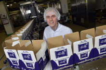 From apprentice to employee - Alex secured a role in Bournville after completing his apprenticeship at Mondelēz International