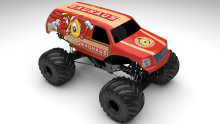 BAUHAUS bygger Monstertruck