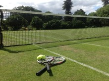 Junior Tennis Stars In The Making At Stoke Park