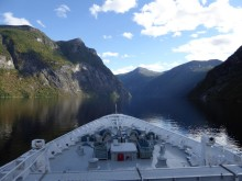 Exploring Norway's fjords on foot