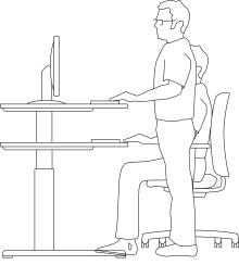 Büroarbeitstische richtig auswählen  - Zwölf Tipps für den Kauf eines Schreibtisches