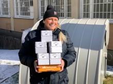 Kronans Apotek skänker handsprit till hemsjukvården i Gustavsberg och Vid Din Sida