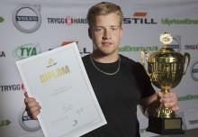 Oskar Ågren från Höör tog guld i Yrkes-SM