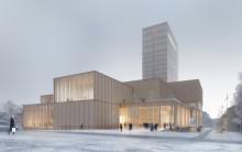 Viss prognosavvikelse i kulturhusbygget i Skellefteå