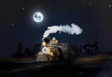 Spöktåget - ny Halloweenattraktion på Scary Sommarland
