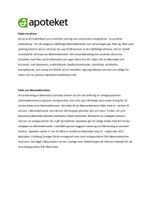Fakta om pCure och läkemedelsrester