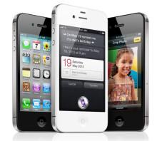 Mobiltoppen – iPhone 4S tvåa på listan