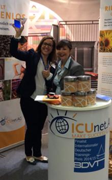 And the winner is… ICUnet.AG zum Gewinner des internationalen Deutschen Trainings-Preises 2014 gekürt