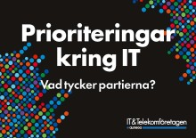 Prioriteringar kring IT – så tycker partierna