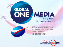 Global One Media showcasing One Aerospace Lab in Paris Air Show 2017