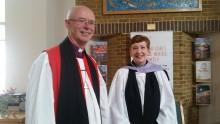Rev Elizabeth Chapman commissioned as chaplain of ellenor