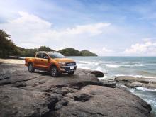 Tøff ny Ford Ranger får Europa-debut i Frankfurt