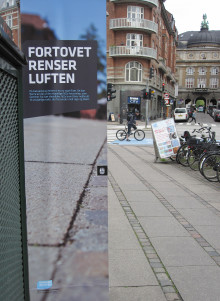 Starka Betong i Danmark levererar luftrenande plattor till Köpenhamns innerstad