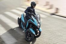 """「TRICITY125/ABS」 2018年モデルを発売  """"BLUE CORE""""エンジン搭載などさらに進化した フロント二輪オートマチックコミューター"""