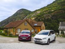 Nye Ford S-MAX og Galaxy fikk 5-stjerners  sikkerhetsgradering av Euro NCAP