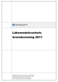 Läkemedelsverkets årsredovisning 2011