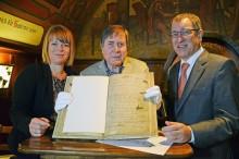 Auerbachs Keller erhielt verlorenes Gästebuch aus den Jahren 1859 bis 1866 zurück