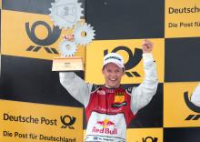 Mattias Ekström trea i DTM-mästerskapet efter ny pallplats
