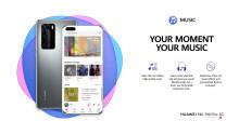 Huawei lanserar Huawei Music
