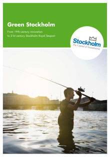 Broschure: Green Stockholm - From 19 th century innovation to 21st century Stockholm Royal Seaport