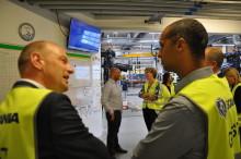 Ministerbesøg hos Scania i Ishøj