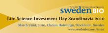 SwedenBIO Life Science Investment Day Scandinavia 2010