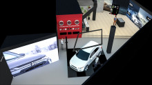 Mitsubishi öppnar Concept Store i Bromma Blocks