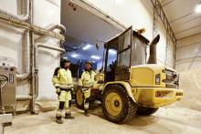 Volvos hjullastare viktig när Lantmännen förvandlar matsvinn till bränsle