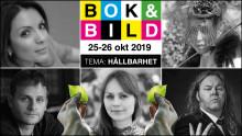 Nu är det klart:  De kommer till Bok & Bild 2019!