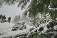 Höga hastigheter på snö och is – Volkswagen ser fram emot Rally Sweden
