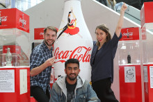 Norske studenter med vinnerdesign for Coca-Cola