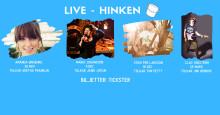 Möt nya liveklubben Hinken! (Grammisvinnare på premiären)