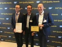 5 danske vindere ved SAP Nordic Quality Awards 2018