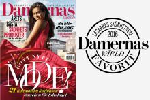 Damernas Världs läsare har valt årets skönhetsfavoriter 2016