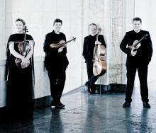 Internationell stråkkvartett gör exklusiv konsert i Kristianstad