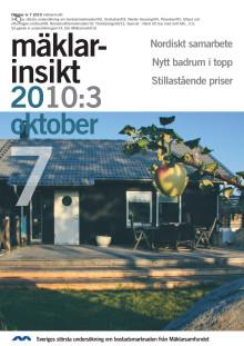 Mäklarinsikt oktober 2010