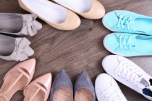 Schuhgeschichte: Linker und rechter Schuh