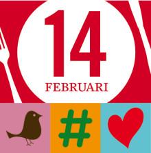 Ridderheims söker hungriga singlar till Twitterevent på Alla hjärtans dag #amoredejt