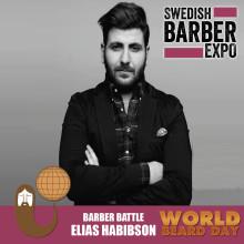 """Barberaren från Nässjö representerar *övriga Sverige"""" i tävlingen om """"Årets barberare 2017"""""""