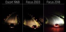 Nye Ford Focus med unik lysteknologi som hjelper deg i høstmørket