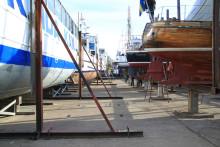 Pressinbjudan - Utdockning i Göta kanals torrdocka i Motala 27 april