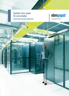 Ny broschyr på svenska: Upptäck ebm-papst för serverhallar