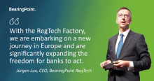 "BearingPoint RegTech launches an international ""regulatory reporting factory"""