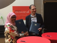 Fryshuset initiates cooperation with the UN's Human Settlements Programme Habitat