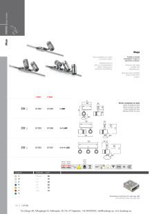 Produktblad I-LéD Maja, det smarta sättet att belysa utställningar.