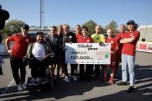 Ombold er årets modtager af Muskelsvindfondens Plads til forskelle-prisen og 100.000 kr.